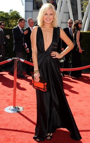 Malim Akerman on the Creative Arts Emmys red carpet