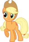 an image of Applejack grinning