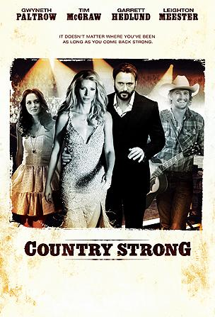 the poster for the film Country Strong