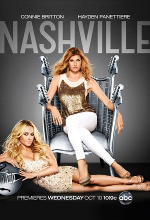 a poster for the television series Nashville