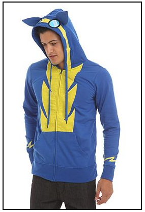 an image of a model in a Wonderbolts hoodie