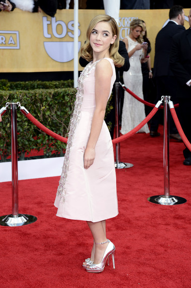 a photo of Kiernan Shipka at the 2013 SAG Awards