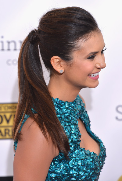 a photo of Nina Dobrev at the Critics Choice Awards
