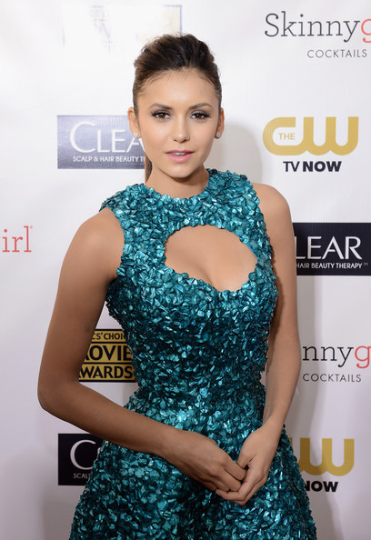 a photo of Nina Dobre at the Critics Choice Awards