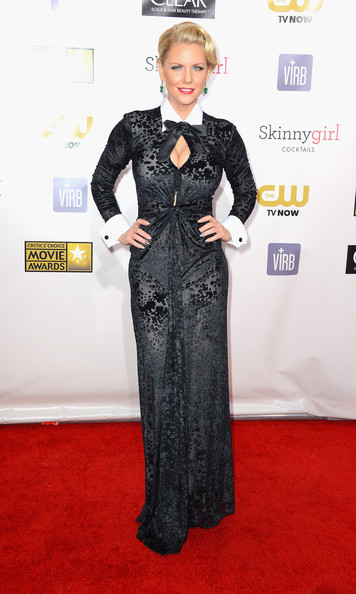 a photo of Carrie Keagan at the Critics Choice Awards
