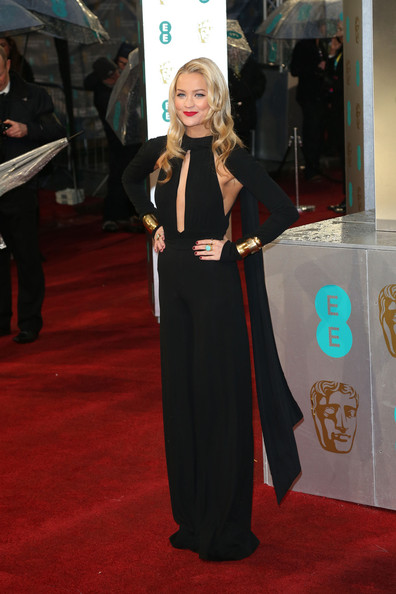 a photo of Laura Whitmore at the BAFTAs 2013