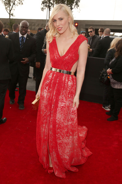 a photo of Natasha Beddingfield at the Grammys 2013