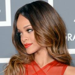 Rihanna looking regal