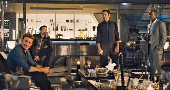 Avengers in the Living Room
